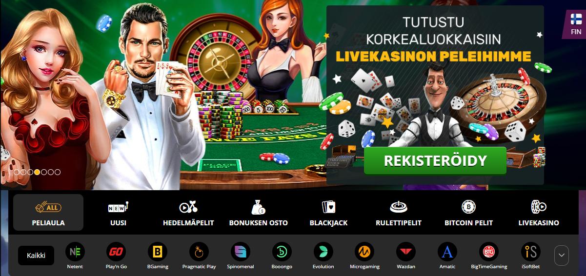 Bitcoin casino vill